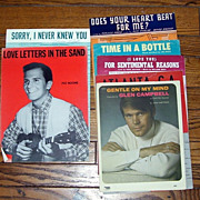 7 Romantic Piano Sheet Music, Glen Campbell,Eddy Howard,Pat Boone