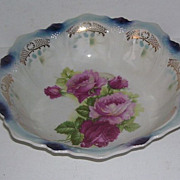 Bavarian Flow Blue Serving Porcelain Bowl