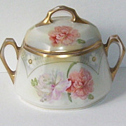 German J.S.V. Porcelain Biscuit Jar