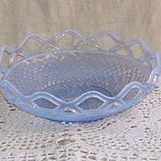 Imperial Blue Katy Opalescent Moonstone Bowl