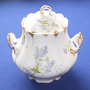 Charles Field Haviland GDM Limoges France Biscuit Jar