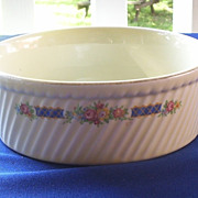 Hall Blue Ribbon China French Baker Casserole