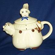 Shawnee Tom The Pipers Son Teapot