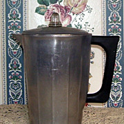 House Institute Deco Style 8 Cup Aluminum Coffee Pot