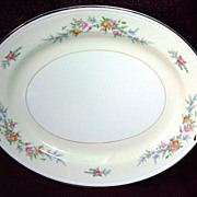 Homer Laughlin Eggshell Georgian Serving Platter