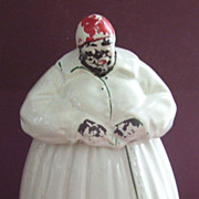 Vintage McCoy Aunt Jemima Cookie Jar Cookies on Front
