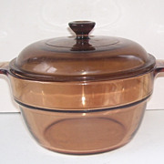 Pyrex  Corning Vision Amber Glass Cooking