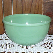 Fire King Jadite Jadeite Green Glass 7 Inch Mixing Bowl