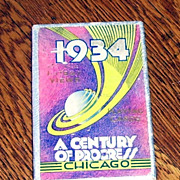 52 Chicago Century of Progress 1934  Deck of Playing Cards In Original Box