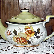 Gibson's Staffordshire England Porcelain Teapot Tea Pot