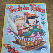 1946 Tuck In Tales Merrill Pub Childrens Illustrated Picture Book