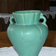 Weller Art Pottery Turquoise Pottery Flower Vase