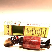 Vintage Sambo Fishing Lure w/ original box & More