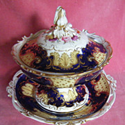 John Rose Coalport Dessert Cream Tureen c.1835