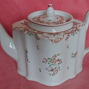 New Hall Teapot Pattern 195 c.1790 -1800