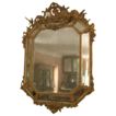 Fabulous quality 19th C. multi-glazed French 'Cushion' Mirror