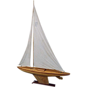 Handsome 19th century Pond Yacht Sailer from Scotland