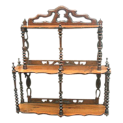 Attractive Wall hanging Shelf-rack from the Art Nouveau period