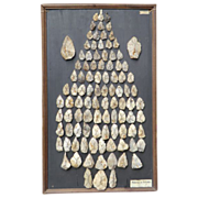 A Stunning Display of Prehistoric Arrowheads
