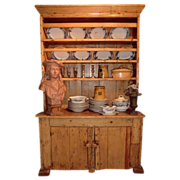 Fabulous small Irish Pine Dresser- mid-nineteenth century