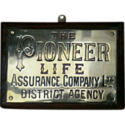 Engraved Brass Insurance Plaque