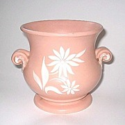 Pink Abingdon Star Flower 2 Handled Vase 559