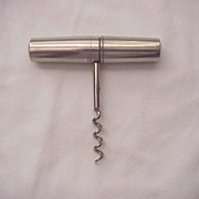 German Made Pocket Cork Screw with Four Attachable Tools - Circa 1900