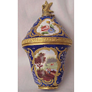English Enamel Perfume Bonbonniere Circa 1765