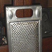 SALE Old Tin Grater ~ Ideal ~ Pat. June 11 1878