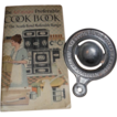Cook Book & Tin Advertising Egg Separator - South Bend Malleable Range
