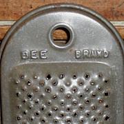 SALE Bee Brand Tin Nutmeg Grater