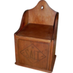 c 1900 Wooden Salt Box
