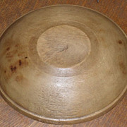 SALE Beehive Turned Wooden Dough - Butter Bowl c. 1890s