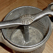 Kreamer Potato Vegetable Ricer - Masher - c. 1930