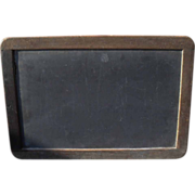 c. 1900 School House Slate - Chalk Board - Primitive