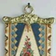 Antique Tapestry Bell Pull