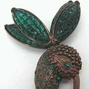 Hummingbird Pin Marked 'Eisenberg Original'