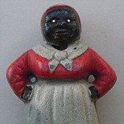 Cast Iron Bank - Aunt Jemima Mammy - Black Americana