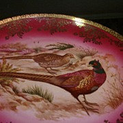 Fake Bavaria Germany Pheasant Plate