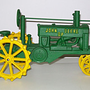 Cast Iron John Deere Tractor Toy