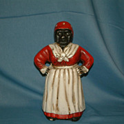Cast Iron Aunt Jemima Mammy Bank