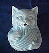 Vintage McCoy Pottery Cat String Holder