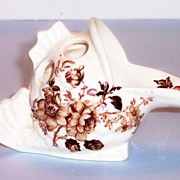 "Royal Staffordshire ""Charlotte"" Porcelain Fish Shape Figurine by Clarice Cliff"