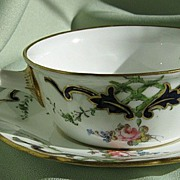 Royal Crown Derby Porcelain ?????? with Saucer