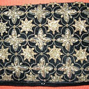 Vintage Evening Black & Gold Clutch Bag -  R.D. Ramnath