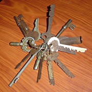 Vintage Set of Keys