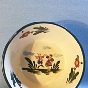Hand Painted Dutch Couple Bowl