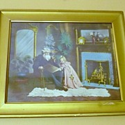 Framed Victorian?  Print or photograph?