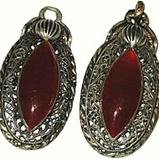 Schreiner Carnelian Glass Accessories