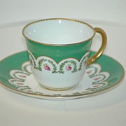 Royal Crown Derby Demitasse Cup & Saucer